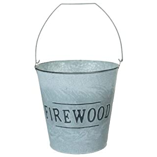 Luxurious Style Firewood Bucket Perfect for Storing Logs Garden Fireplace Wood Storage Containers