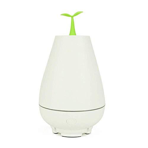 Zengkei Luftreiniger Luftreiniger 100 ml Luftbefeuchter USB Luftreiniger Lufterfrischer Aroma Diffusor, Dampfmaschine Diffusor for Home Office Auto im Freien (Color : White)