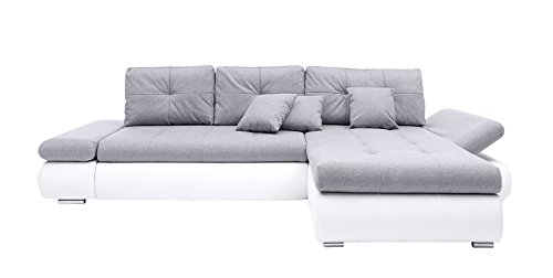 Avanti trendstore divano ad angolo in pelle sintetica - Divano ad l ...
