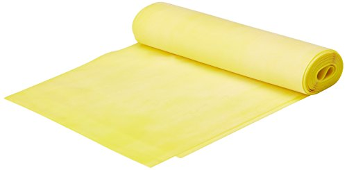 Thera-Band Gymnastikmatte elastisches 2,5 m mit kleinem RV-Fach Gelb gelb 2,5 m Rv-ausrüstung