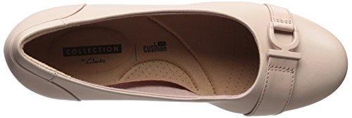 Clarks , Baskets mode pour femme Cream Leather