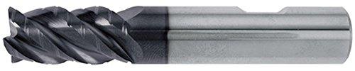 Schaftfräser DIN6527L Typ NF D.4mm VHM TiAlN 4Schneiden lang