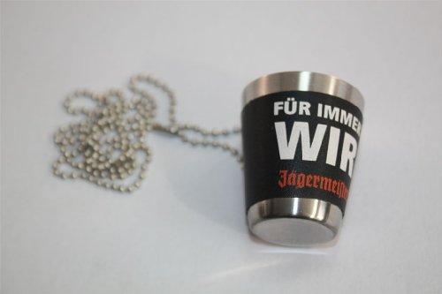 Jägermeister Miniatur-Schnapsbecher FÜR IMMER WIR
