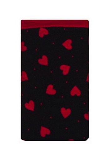 Preisvergleich Produktbild Dunkelrote Herzen Druck Apple iPod Socke - Apple iPod Nano