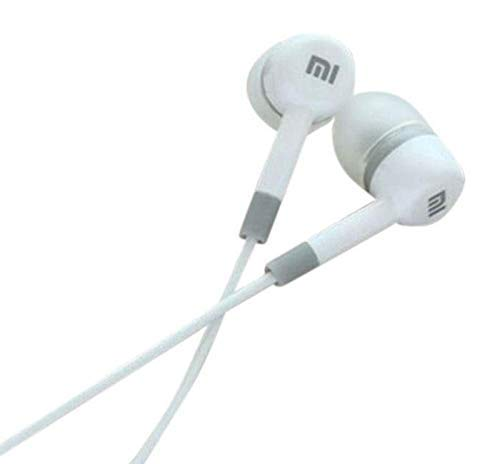 All product online Mi Super Bass Quality Wired Earphones with Mic for All Mobile (White Shade) Image 4