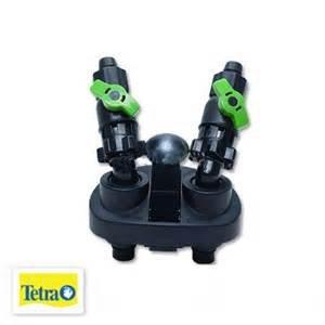 Tetra Ex 400/600/800Plus Block Adapter für mit flexiblen Schläuchen