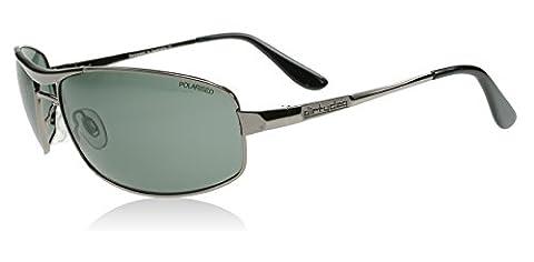 Dirty Dog 52761 52761 Shiny Gunmetal Ace Aviator Sunglasses Polarised Lens Cate
