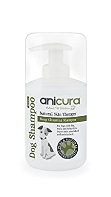 Anicura Natural Dog Shampoo for skin allergies, itchy, dry & sensitive skin