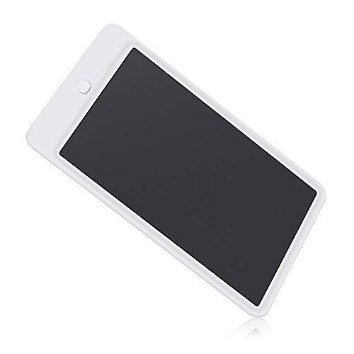 LyJ+evanism LCD Electronic Writing Board, 10 Zoll LCD Tablet Elektronische LCD Kinder Lichtenergie Kleine Tafel Büro Hinweis Entwurfspapier (Color : White)