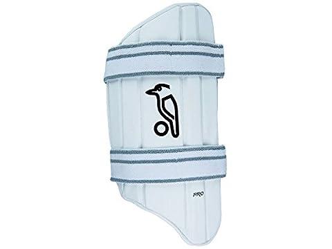 Kookaburra protection de batteur de cuisse Pro, mixte, Pro, blanc, Size AR/H