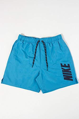 Nike LM F5 Ness8469 S 430 Lt Blue F Maillot de Bain Homme, Bleu Fur, S