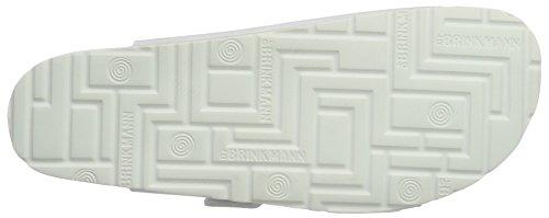 Dr. Brinkmann 603141 Unisex-Erwachsene Pantoletten White - WHITE