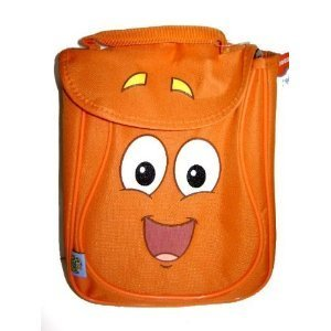 Dora the Explorer Diego Lunch Bag Lunchbox - Diego Orange Lunch Tote Bag, Great idea for Kids gift. by Diego - Dora Lunch Bag