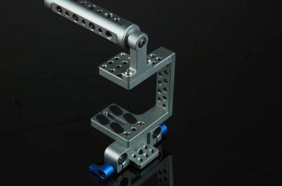 Preisvergleich Produktbild GOWE Cage Schulterstativ Set für alle SLR-Kameras Micro-Serie, mit Cold Shoe Mount