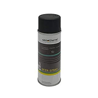 Senotherm Spray Black Metallic 400ml