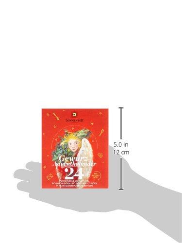 Sonnentor Gewürz-Adventskalender, 1er Pack (1 x 116 g) - Bio - 6