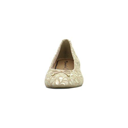 Tamaris 1-1-22189-28-496, Ballerine donna oro gold 37 Gold