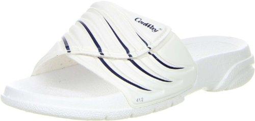 Conway Damen Herren Badeschuhe weiß, Größe:41, Farbe:Weiß