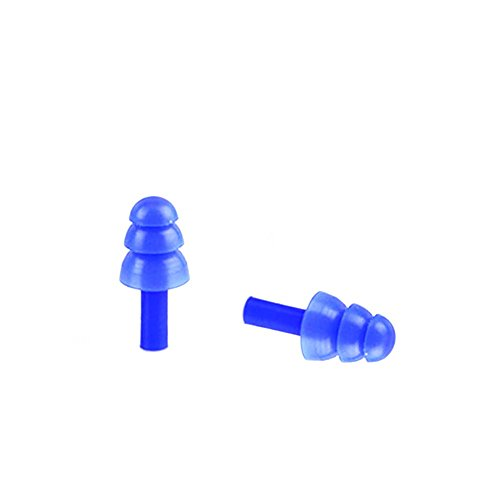 2 Paar Babys Kids Kinder Wasserdicht Baden Baden Silikon Ohrstöpsel Weiche Ohr Plug