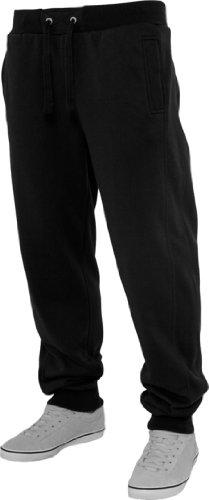 Urban Classics da uomo TB252 Straight Fit pantaloni Black
