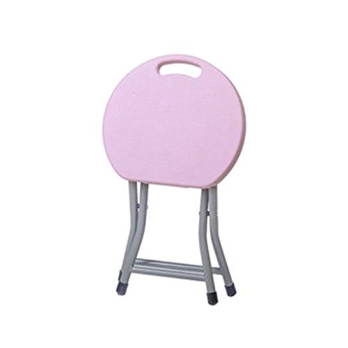 Y-YF Hocker, Barhocker, Stühle, Klappstuhl, Haushaltshocker, Klapphocker, Tragbare Außenverdickung Kunststoff Esstisch Hocker (Farbe :...