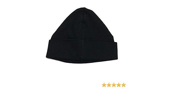 British Made BabywearUK Knotted Baby Hats Black