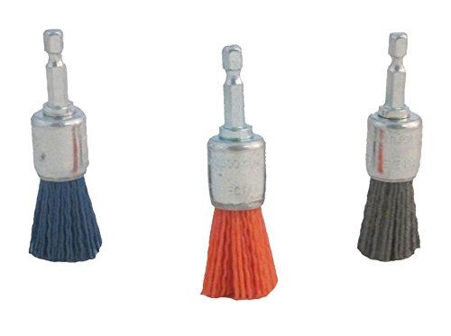DICO 30-3/4End nyalox End-Pinsel-Set 3/4-Zoll sortiert nyalox Ende Pinsel, 3-teilig -
