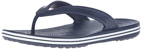 Crocs, Crocband Flip LowPro, Sandali, Unisex - adulto, Blu (Navy), 36-37