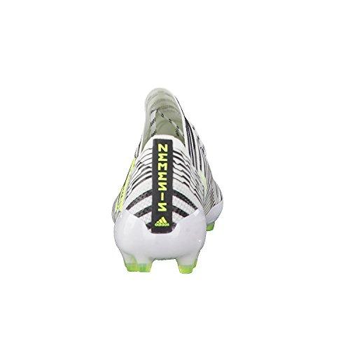 adidas Nemeziz 17.1 Ag, Chaussures de Football Homme Blanc (Footwear White/solar Yellow/core Black)