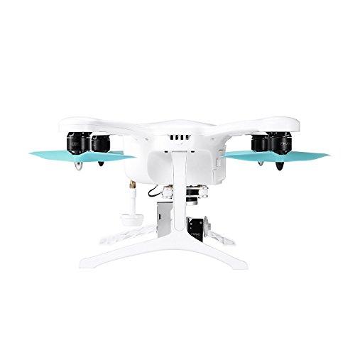Ehang GHOSTDRONE 2.0 Aerial RC + Quadrocopter mit 3-Achsen Hochpräzisionsgimbal &4K HD Sports Actionkamera, iOS/Android APP Bedienung, 25 Min Flugdauer, Bis zu 1000m Sendebereich,Weiß - 8