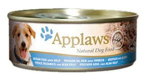 Applaws Hund, Meeresfisch und Seetang, Nassfutter, Dose, 1er Pack (1 x 2.496 kg)
