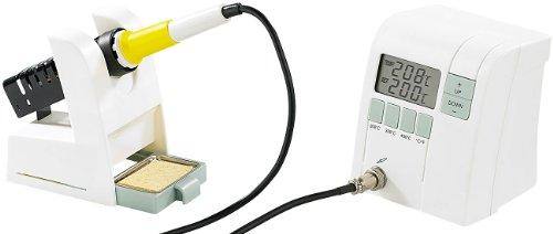 AGT Lötset: Digitale Premium-Lötstation mit elektronischer Temperatur-Steuerung (Lötstation-Komplettset)