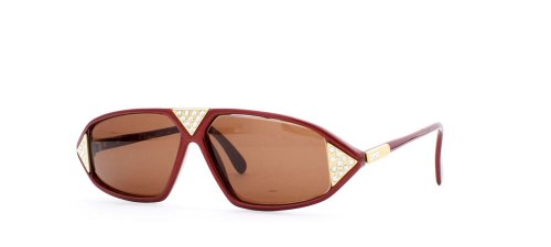 Cazal Herren Sonnenbrille Rot Rot
