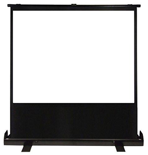 "Luxburg® 100"" 203x152 Full HD 3D Tragbar Kofferleinwand Mobile Leinwand Beamer Projektionsleinwand - Matt-weiße Oberfläche - mit Gehäuse!"