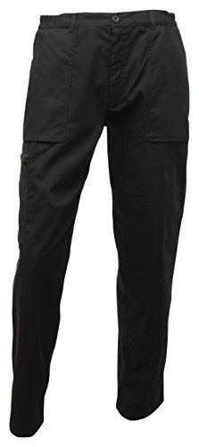 Image of Regatta Action 34-Inch Width 33-Inch Length Trousers - Black