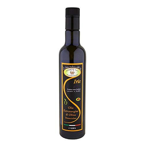 Olio extravergine di oliva iris italiano abruzzo 500ml bottiglia gsta001