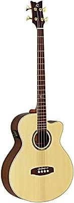 Ortega guitarras D558–4Jumbo de 4cuerdas Guitarra Bass