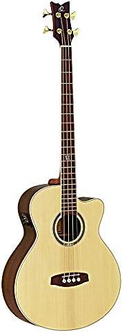Ortega Guitares D558–4Jumbo Guitare Basse 4cordes