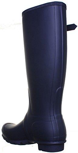 Hunter Org Haut femme pour bottes de caoutchouc Bleu - Navy jxl