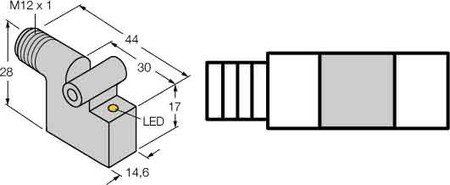 Turck Magnetfeldsensor BIM-IKT-AP6X-H1141 DC,pnp,no Magnetischer Näherungsschalter 4047101000368