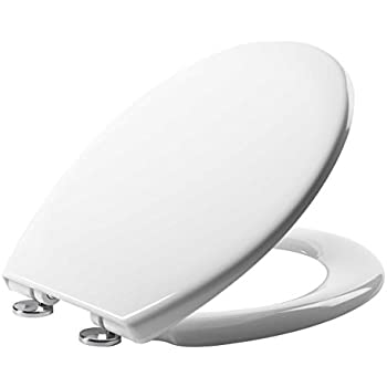 40cm round toilet seat. e Plumb 23607 Linn Soft Close Toilet Seat  White VINSANI SOFT SLOW CLOSE ROUND WHITE WC TOILET SEAT NEW IN BOX