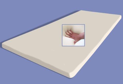 Gel / Gelschaum Matratzenauflage Memory Foam Höhe 5 cm Matratzen Topper weiche Auflage für Matratze Alternative Wasserbett (90x200 cm) thumbnail