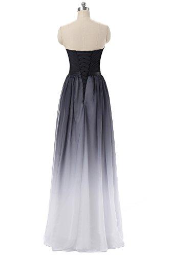 Gorgeous Bride Abendkleider Elegant Lang 2017 Damen Chiffon A-Linie Ballkleider Festkleider Cocktailkleider Z-Style A