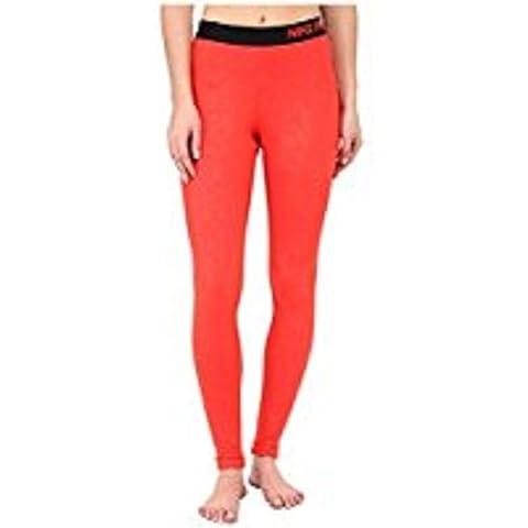 Nike Women's Pro Warm Emb Hgts Vixn TI Tights, color Rojo/Negro (Light Crimson), talla XS