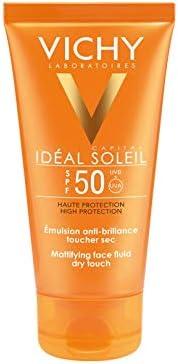 Vichy Ideal Soleil Mattifying Face Fluid Dry Touch SPF 50, 50 ml