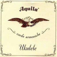 Aquila 26U Aquila Bariton-Ukulele 8-string-Satz, New Nylgut, DdGgbbee, DGBE Stimmung, Saitenlänge 85 cm