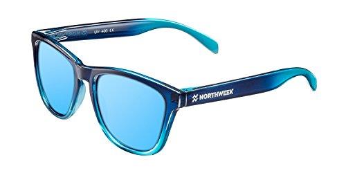 NORTHWEEK Gradiant Crystal, Gafas de sol, azul (Blue), 52