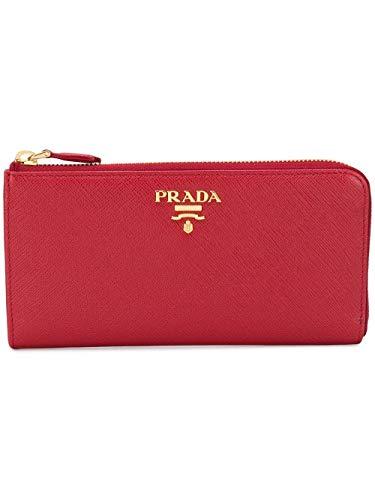 Prada Damen 1Ml030qwaf068z Rot Leder Brieftaschen