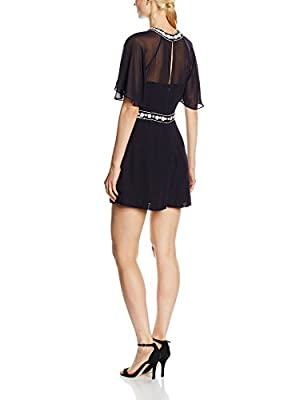 French Connection Women's Impala Drape Playsuit