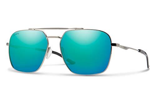 Smith Optics Herren Double Down Sonnenbrille, Mehrfarbig (Blk Dkrut), 58